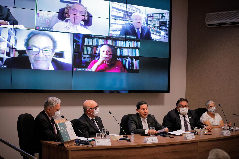 Vice-Presidente General Mourão fez um breve discurso